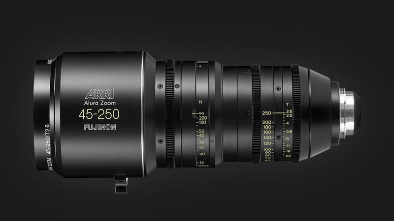 ARRI Fujinon ALURA 45-250mm zoom lens T2.6